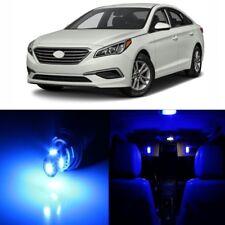 11 x Blue Interior LED Lights Package For 2011 - 2017 Hyundai Sonata + TOOL
