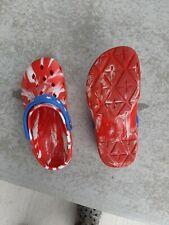 Airwalk red/white/blue Croc Style Unisex Slip On Shoes Sandals