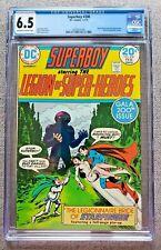 Superboy #200 CGC graded 6.5 FN+ Jan/Feb 1974 Bronze Age 20 cent Marvel Comic