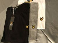 lyle & scott short  sleeve crew neck  t-shirt men clothing - free post UK only