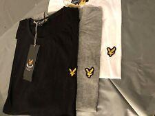 lyle & scott short  sleeve crew neck  t-shirt men clothing - free post UK only