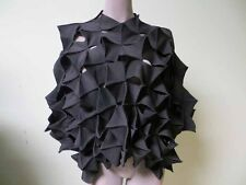 Junya Watanabe Comme des Garcons Architectural Pyramids Stockinette Spike Cape M