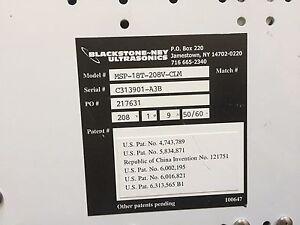 BlackStone NEY MSP-18T-208V-CLM,Ultrasonics GENERATOR,MULTISONIK,AC