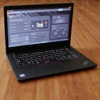 Lenovo ThinkPad T470 Laptop i5-6200U 2.3GHz 8GB 14 HD 1366x768 250GB SSD