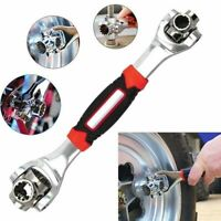 48-in-1 Tool Multifunction Socket Wrench Universal 360° Rotating Head Wrenches