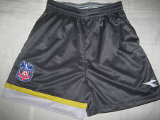 CRYSTAL PALACE BOYS FOOTBALL SHORTS AGE 5 6 7 8 RARE GUNMETAL AWAY CIRCA 2005