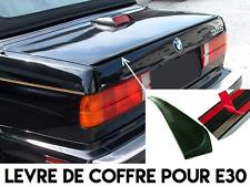 LEVRE COFFRE SPOILER BECQUET AILERON LAME MALLE pour BMW E30 SERIE 3 82-91 M3 M