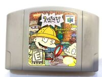 Rugrats Scavenger Hunt NINTENDO 64 N64 Game Tested + Working & Authentic!