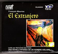 El Extranjero / The Stranger by François Mauriac (Spanish) 3 Audio CDs-NEW