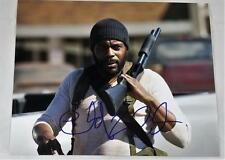 "CHAD COLEMAN ""TYREESE"" SIGNED 8X10 PHOTO AMC THE WALKING DEAD COA 2"