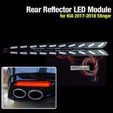 Rear Bumper Reflector 3 Way Brake Turn Signal LED Module For KIA 2017-18 Stinger