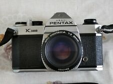 Pentax K1000 camera with SMC Pentax A 50mm  f2 lens