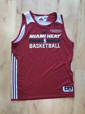 Miami Heat Praxtuce Used Adidas James Johnson Jersey XXL 2XL