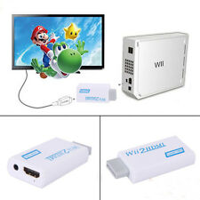 Wii to HDMI Converter Adapter 1080p HD Video Audio Output for Nintendo Wii B