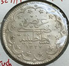1327//9 Turkey 20 Kurush - Big Silver