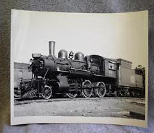 "8"" x 10"" B&W Photograph Canadian National 81 Steam Locomotive Engine & Tender"