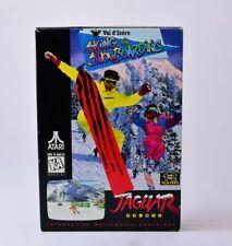 Val d'Isere Skiing and Snowboarding Atari Jaguar Complete in Box
