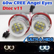 WHITE 60W CREE LED Angel Eye Halo Light Bulb BMW E39 E59 E53 E60 E63 E64 E65