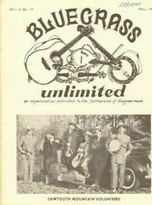 1968 May Bluegrass Unlimited Magazine Back-Issue