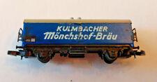 Z scale Marklin Mini Club Kulmbacher Monchshof Brau Reefer Boxcar