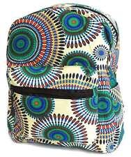 Mini Ladies Rucksack Mandala Small Backpack School College Travel Festival Bag