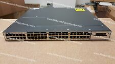 Cisco WS-C3750X-48PF-E PoE+ IP SERVICES LICENSE Ten Gigabit 3750X-48PF-E switch