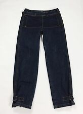 jeans gas cammy cargo donna w29 tg 42 relaxed usato blu denim hot dritti T2078