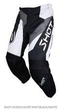 SHOT Devo Alert Pant Black/white Sz40 Motocross MX Dirt Offroad A0d-11b1-a03
