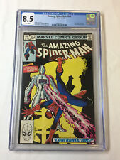 1983 Marvel Comics AMAZING SPIDER-MAN #242 ~ CGC 8.5