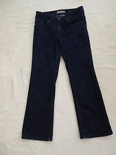 "MARKS & SPENCER PETITE Dk Denim Bootcut Jeans W 28"" I 'LG 25.5"" Taille 10"