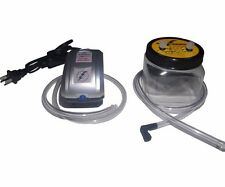Vacuum Brake Bleeder Kit by Air Zapper™- Lightning Fast and Hands Free