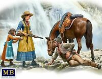 Masterbox 1:35 scale - Gunslinger 1 Marshal Tom,Tucker & Molly  MAS35203