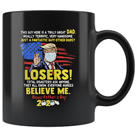 Gift for DAD, Donald Trump Great DAD Funny Mug Funny Fathers Day Gift for Dad