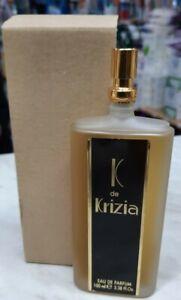 """"""" K de KRIZIA """"  PROFUMO DONNA EDT 100 ml  -Vintage RARO"""