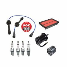 2001-2005 Mazda Miata NGK BKR6EIX11 Spark Plug 4Pc + ZE76  + Filter Tune Up Kit