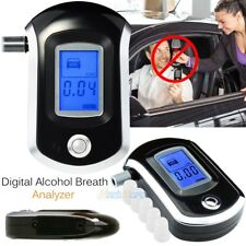 Advanced Prefessional Police Digital Breath Alcohol Tester Breathalyser Detector