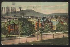 POSTCARD CHATTANOOGA TN/TENNESSEE UNIVERSITY AREA LARGE 2 STORY HOME/HOUSE 1907