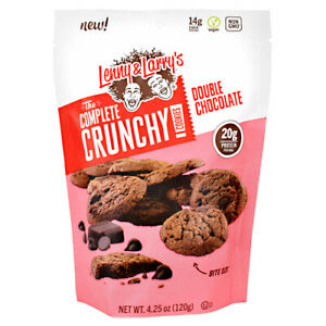 Lenny and Larrys Crunchy Cookies Double Chocolate  6/Bags Best By Date 7/28/2021