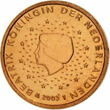[#461418] Nederland, Euro Cent, 2003, UNC-, Copper Plated Steel, KM:234