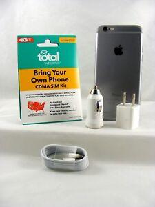 Apple iPhone 6 Plus - 16GB Space Gray (Total Wireless 4G LTE Nano SIM Card)