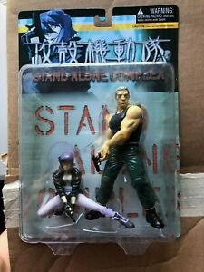 Vintage Stand Alone Complex Ghost in the Shell Action Figure DAMAGED