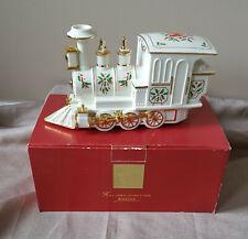 Lenox Holiday Junction Train Engine Christmas original box 1999