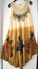 Markenlose geblümte Damenkleider aus Viskose