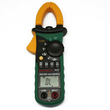 MASTECH MS2108S RMS DC clamp meter compared w/FLUKE inrush current DIGITAL METER