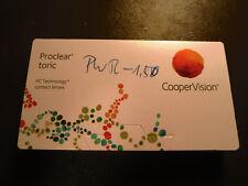Proclear Toric 8.8 / 14.4 / -2,25 / 2,25 x 120 (*** TOP ***) Cooper Vision Monat