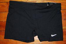 NEW Nike Essentials DriFit Reflective Black Compression Shorts (Large)