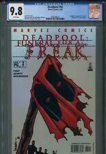 Deadpool 62 CGC 9.8 Funeral for a Freak 2 Uncanny X-Force Cable X-Men New Mutant