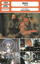 Fiche Cinéma - TERRY GILLIAM - BRAZIL - 1984