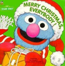 Merry Christmas Everybody! (A Sesame Street Golden Super Shape Book)