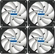 4 Pack of Arctic F12 120mm PC Case Fan - Rev 2 - Silent, High performance
